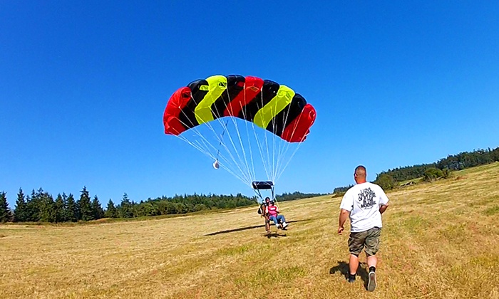 Jet City Skydiving - Oak Harbor Airport: $159 for a Tandem Skydive at Jet City Skydiving ($225 Value)