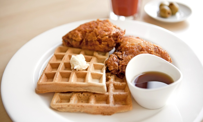 Home of Chicken and Waffles - San Francisco: Comfort Food at Home of Chicken and Waffles (Up to 40% Off)