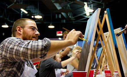 One or Two Two-Hour BYOB Adult Painting Classes or Children's Painting Classes at Texas U Can Paint (Up to 51% Off)