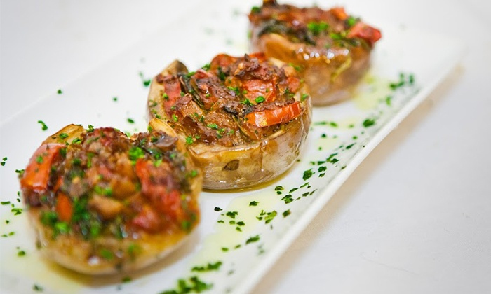 Myth Taverna & Lounge - Downtown San Jose: Greek Cuisine and Drinks at Myth Taverna & Lounge (Up to 50% Off). Two Options Available.