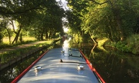 Cheese and Wine Cruise for One or Two at Lancashire Canal Cruises