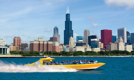Lakefront Speedboat Tour, Thrill Ride, or Architectural Tour from Seadog Cruises...