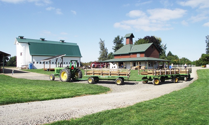 Heiser Farms - Dayton-Amity: Farm Fun Packages for Two, Four, or Six at Heiser Farms on October 4 and 5 (Up to 55% Off)