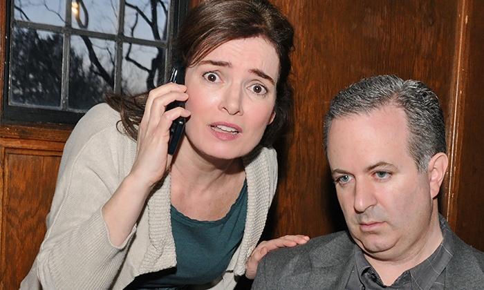 """Dead Man's Cell Phone"" - Axial Theatre: ""Dead Man's Cell Phone"" at Axial Theatre, May 2–17 (Up to 44% Off)"