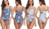 One-Piece Floral Swimsuit