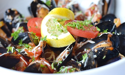 Cajun Bistro Cuisine for Two or Four at Evangeline's Bistro and Music House (40% Off)