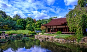 Up to 42% Off Admission to Shofuso Japanese House & Garden at Shofuso Japanese House & Garden, plus 6.0% Cash Back from Ebates.