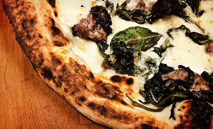 Neapolitan-Style Pizza, Pasta, and Subs at 304 Pizza Bar (Half Off). Two Options Available.