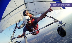 The Florida Ridge Sports Air Park: Tandem Hang-Gliding Flight Package for One or Two at The Florida Ridge Air Sports Park (Up to 60% Off)