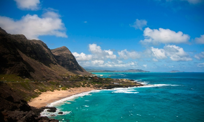 Travel Plaza Transportation, LLC - Honolulu: Bus Tour with Lunch and Movie Tour for Two, Four, or Six from Travel Plaza Transportation, LLC (Up to 49% Off)