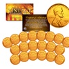 Original Lincoln Wheat Pennies Plated in 24K Gold (20-Pack)
