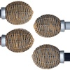 Lavish Home Basket-Weave Curtain Rod