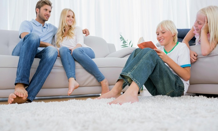 Carpet Cleaning Service - Chicago: 3 Rooms/Areas of Cleaning Services from Carpet Cleaning Service (60% Off)