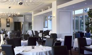 Restaurant Du Patio: Menu en 4 services avec apéro, vin et thé ou café pour 2 personnes à 79,99 €au Restaurant Le Patio