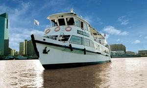 Barco Humberto M: Desde $299 por paseo en barco por Puerto Madero y Río de la Plata para 1, 2 o 4 personas en Barco Humberto M