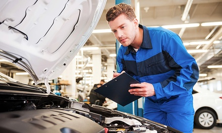 Car Service with Oil and Filter Change Plus Fluid TopUp at Deniz Auto Servicing