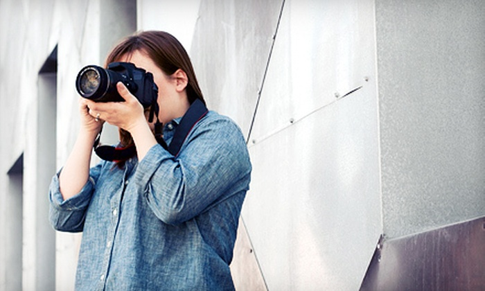 Camera Kamp - North Sacramento: Outbound Downtown Photo Lesson for One or Portraits in the Park Photo Lesson for Two from Camera Kamp (Up to 54% Off)