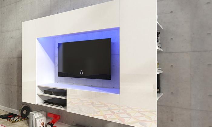 Mobile Porta Tv E Libreria.Mobile Libreria E Porta Tv Groupon Goods