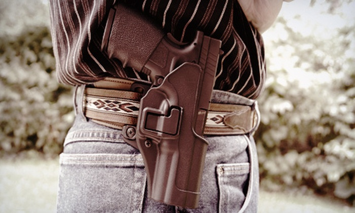 Center-Mass Firearms Training - Salt Lake City: $20 for a Four-Hour Concealed-Firearms-Permit Class at Center-Mass Firearms Training ($40 Value)