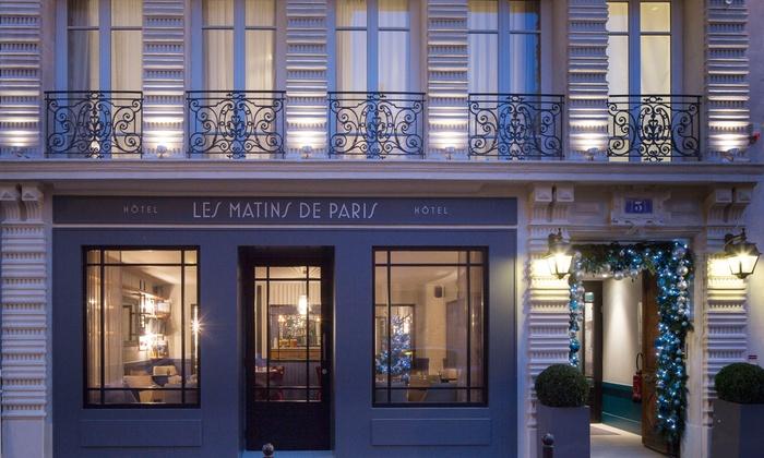 H Tel Les Matins De Paris Spa A Paris Le De