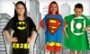 Kids' DC Comics Bath Ponchos: $15 for a Kids' DC Comics Bath Poncho ($32 List Price). Multiple Styles Available. Free Shipping and Free Returns.