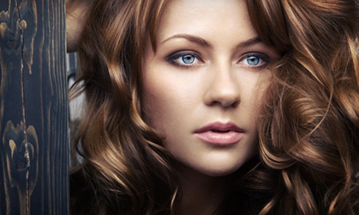 Colleen & Company - Arden Hills - Shoreview: Haircut with Aveda Conditioning Treatment, Facial Wax,&Option for Coloring Service at Colleen & Company (Up to 55% Off)