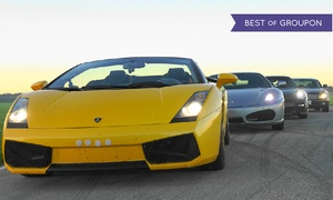 Toronto Motorsports Park: One, Two, Three, or Four Laps in a Lamborghini, Ferrari, or Porsche at Toronto Motorsports Park (Up to 53% Off)