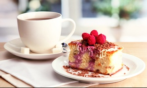 Thrybergh Country Park: Hot Drink and Cake for Two or Four at Thrybergh Country Park (Up to 41% Off)