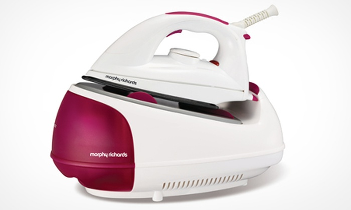 how to use morphy richards steam generator iron