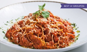 Paul's on Times Square: Italian Meal for Two or Four at Paul's on Times Square (Up to 55% Off)