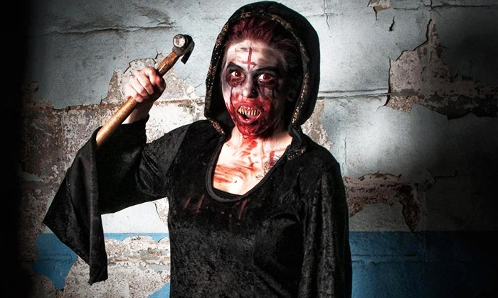 Scare House Windsor - Forest Glade: Haunted-House Visit for Two or Four at Scare House Windsor (Up to 42% Off)