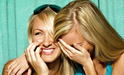 image for Three- or Four-Hour <strong>Photo-Booth</strong> Rental from Instabooth (61% Off)