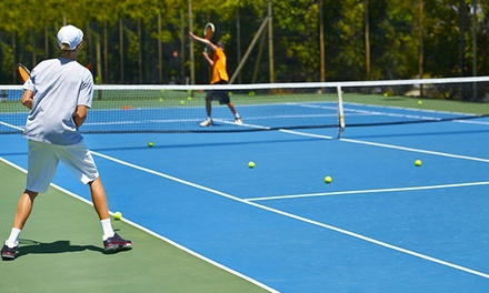 Three 90-Minute Group Tennis Clinics or Three-Month Tennis Membership at Bellevue Tennis Academy (Up to 47% Off)