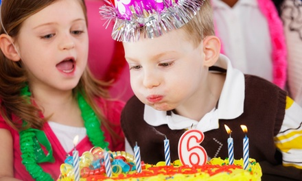 Children's Birthday Party for Up to 25 or 50 Guests at Pacific Top Team Kelowna (Up to 72% Off)