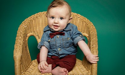 image for Baby Photoshoot Package With Prints for £10 at True Story Photography (96% Off)