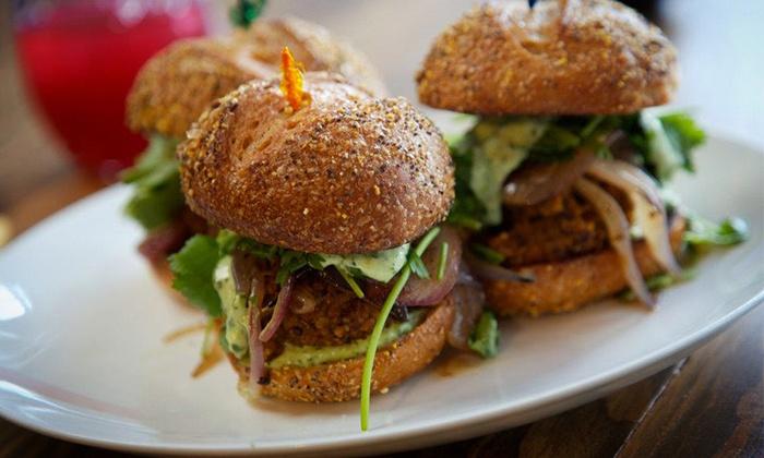 Plum Bistro - Capitol Hill: Gourmet Vegan Cuisine at Plum Bistro (50% Off). Two Options Available.