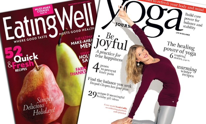 Blue Dolphin Magazines: One-Year Subscription to One of Six Health Magazines (Up to 60% Off)