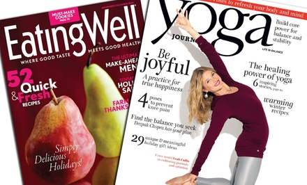 One-Year Subscription to One of Six Health Magazines (Up to 60% Off)