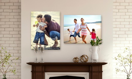 Canvas Prints from MyPix2.com (Up to 75% Off). Four Options Available.