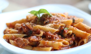 Piccolo Pizza & Pasta: Italian Cuisine for Lunch or Dinner for Dine-In at Piccolo Pizza & Pasta (50% Off). Three Options Available.