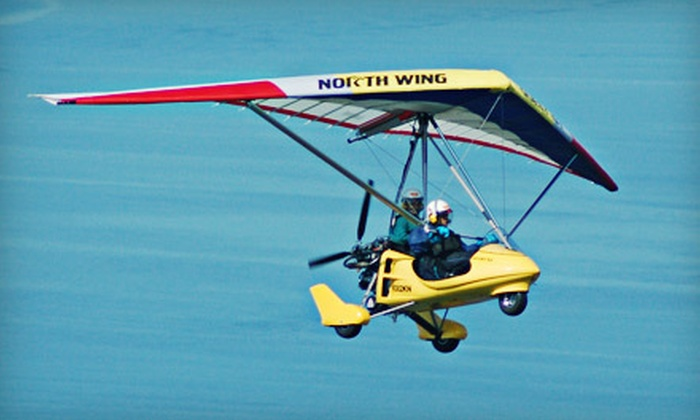 Adventure Aviation Trike Flights - Green Water Meadows: Up to 51% Off Instructional Discovery Flights in Chelan