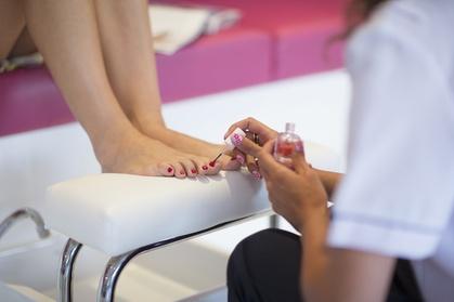 Up to 36% Off on Nail Spa/Salon - Pedicure at Nails by Lacey at Serenity Spa LLC.