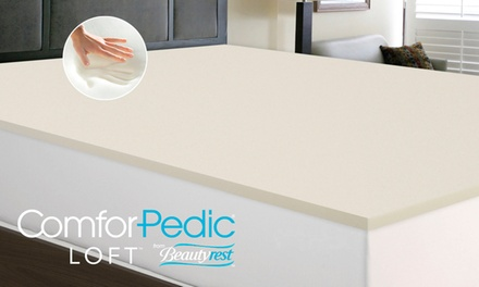 Comforpedic Loft From Beautyrest Mattress Toppers Groupon