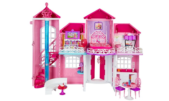 Casa di barbie mattel groupon goods for Aggiungere piani casa