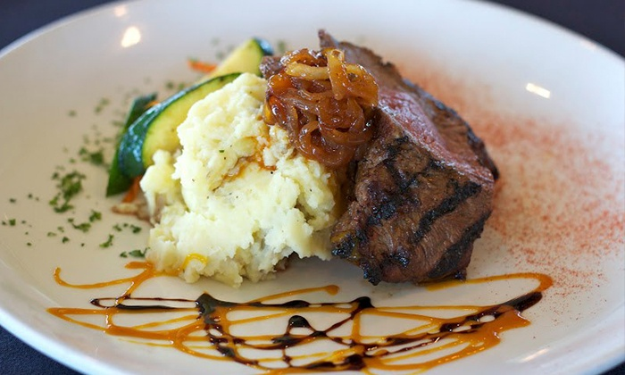 Copper Dine and Drink - East Lansing: $29 for a Meal for Two with Entrees and Wine or Beer at Copper Dine and Drink (Up to $52 Value)