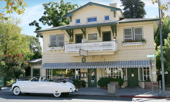 Calistoga Inn Restaurant & Brewery - Calistoga, California: Stay with Dining Credit, Beer & Wine Tasting at Calistoga Inn Restaurant & Brewery in Napa Valley, CA; Dates into April