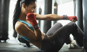FMA Center: One or Two Months of Unlimited Kickboxing Classes at FMA Center (Up to 74% Off)