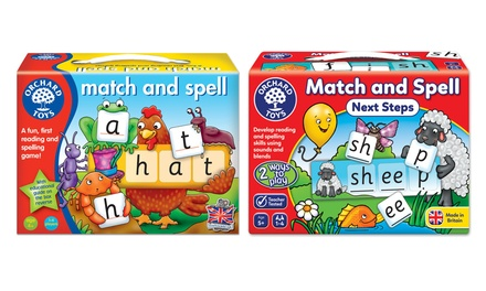Orchard Toys Match and Spell Game for £6.50
