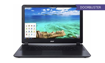 "Acer Chromebook 15.6"" Laptop with Intel Celeron Processor and 2GB RAM (Manufacturer Refurbished)"
