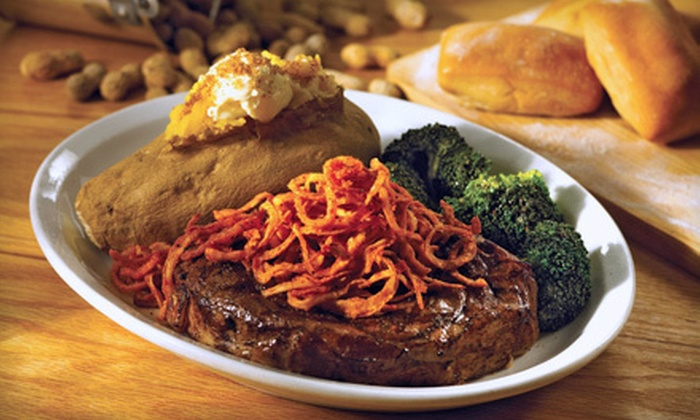 Original Roadhouse Grill - Temecula Regional Center: Steak-House Cuisine at Original Roadhouse Grill (Half Off). Two Options Available.